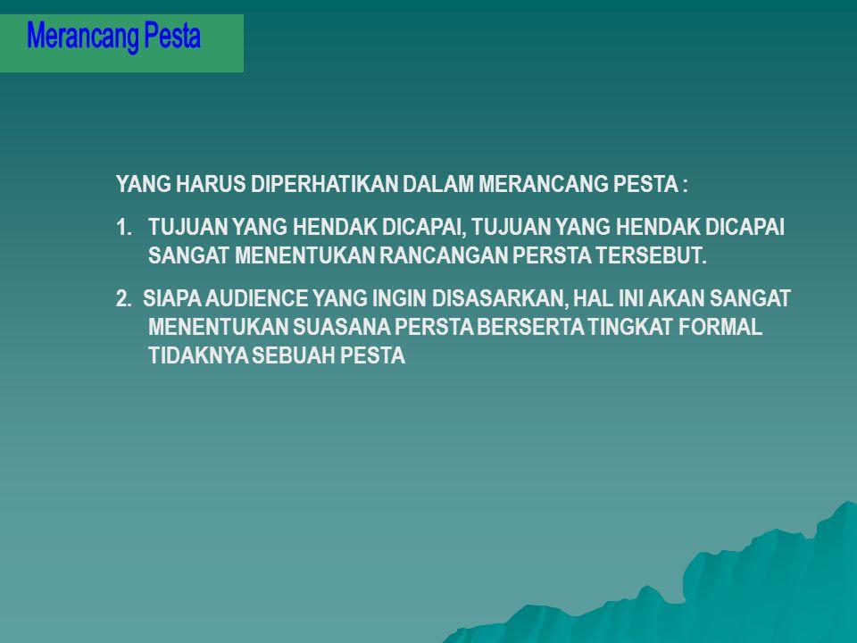 PESTA PERUBAHAN 1.PERUBAHAN ADALAH SEBUAH PESTA, INSTROPEKSI DIRI/BERCERMIN PADA SESUATU YANG BERGESER BAIK POSITIH TERLEBIH-LEBIH DENGAN YANG NEGATIF 2.