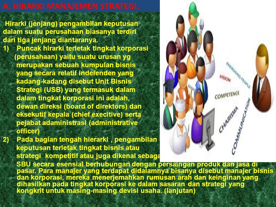 Pengertian Strategi(Erni 200. 132-133) Grifin (2003) mendefinisikan strategi sebagai rencana komprehensif untuk mencapai tujuan organisasi (strategy i