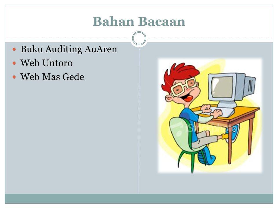 Bahan Bacaan Buku Auditing AuAren Web Untoro Web Mas Gede