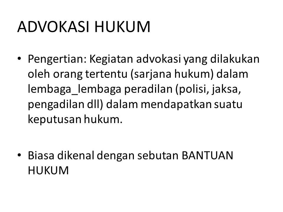 Tim Advokasi Jak – Ut & Kep Seribu Faizal Hafied,SH : 0858 – 8500 - 1415 Ismail Nganggon,SH: