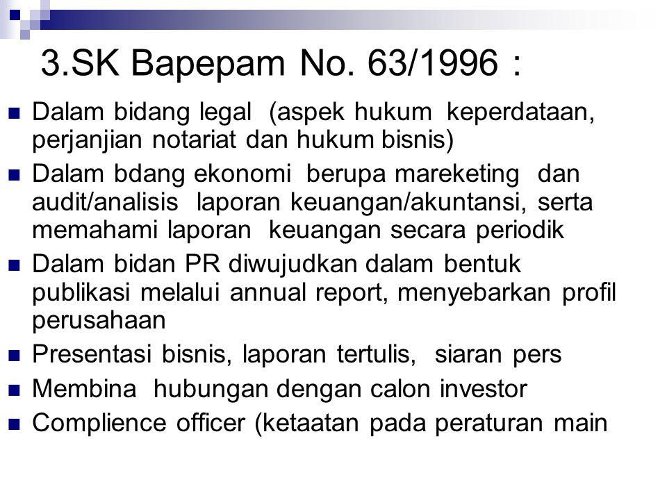 3.SK Bapepam No.