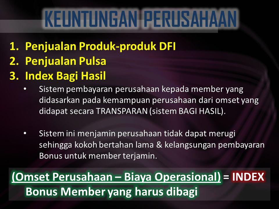 Menikmati layanan Pulsa Murah seumur hidup Menikmati Diskon dan Previlledge lebih dari 5000 Mercant ternama di seluruh Indonesia cek: www.duta4future.