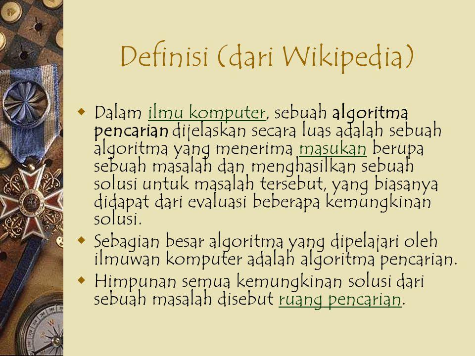 #1 Sequential Search – Diketahui: larik l berisi data sebanyak n, apakah ada data x didalam larik l ; jika ada, catat indeks dimana x ditemukan