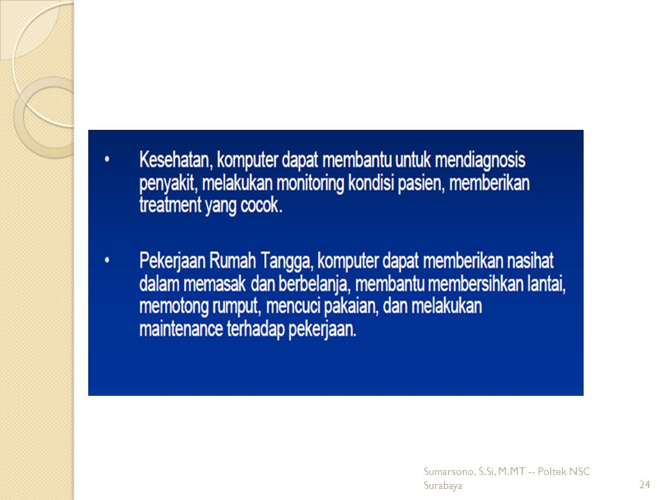 24 Sumarsono, S.Si, M.MT -- Poltek NSC Surabaya