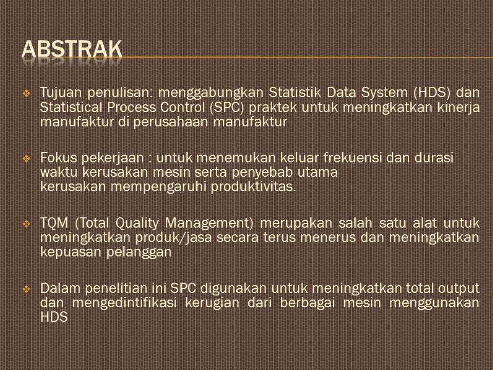  TQM (Total Quality Management) adalah sistem manajemen yang bertujuan untuk terus-menerus meningkatkan kepuasan pelanggan.