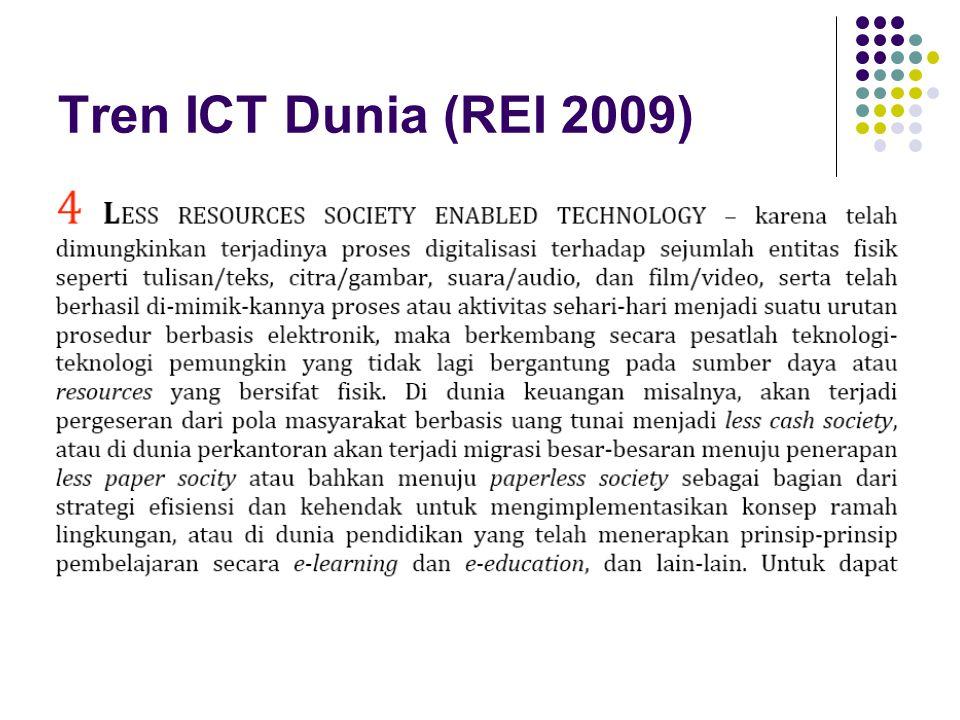 Tren ICT Dunia (REI 2009)