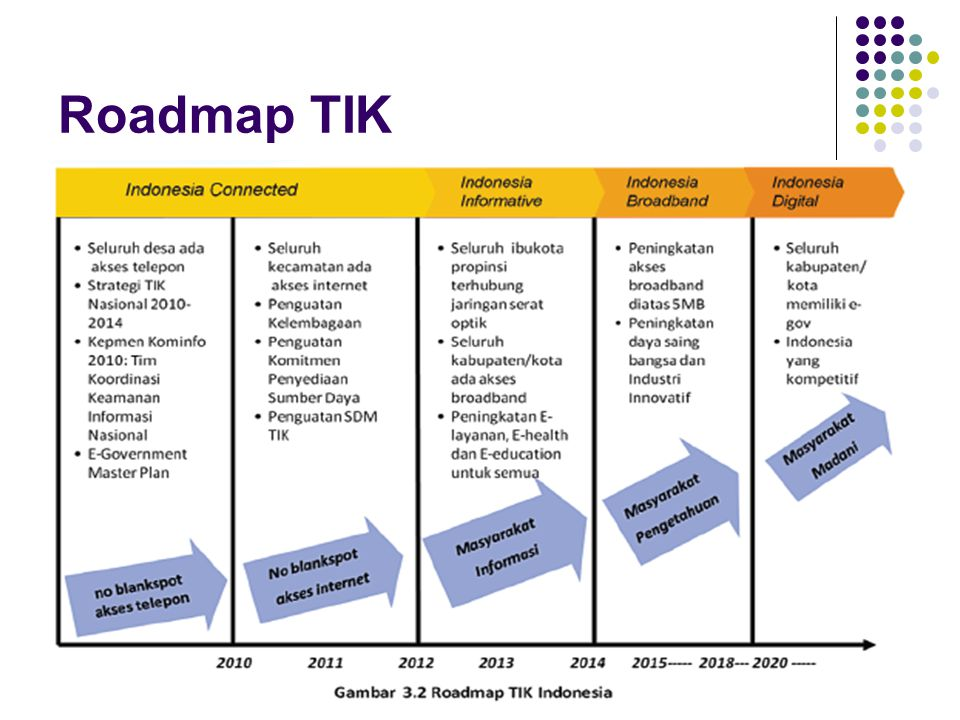 Roadmap TIK