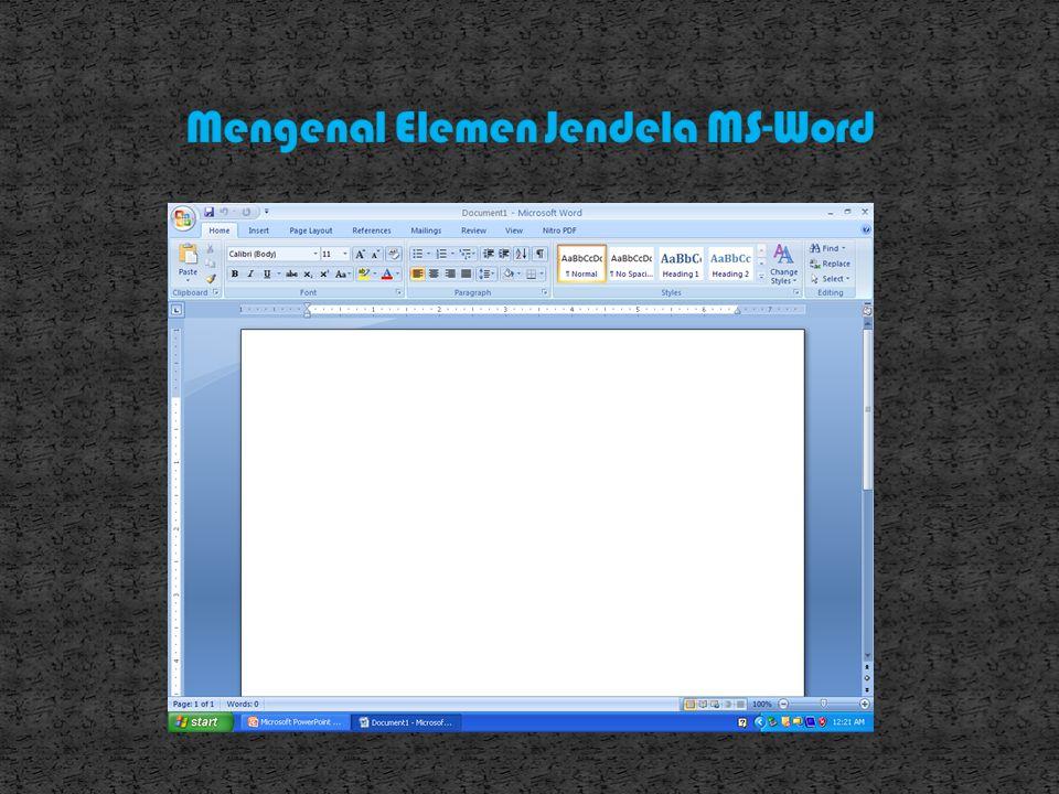 Pada kotak dialog New pilih tab general dan klik Blank Document lalu klik OK.