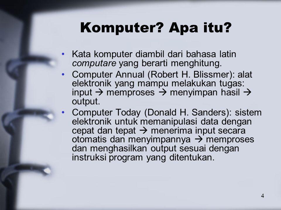 45 Perangkat Lunak Berdasarkan Fungsionalnya OPERATING SYSTEM: Perangkat lunak yang menjalankan sistem komputer dan merupakan interface dari sistem komputer dan program aplikasi yang berjalan diatasnya.
