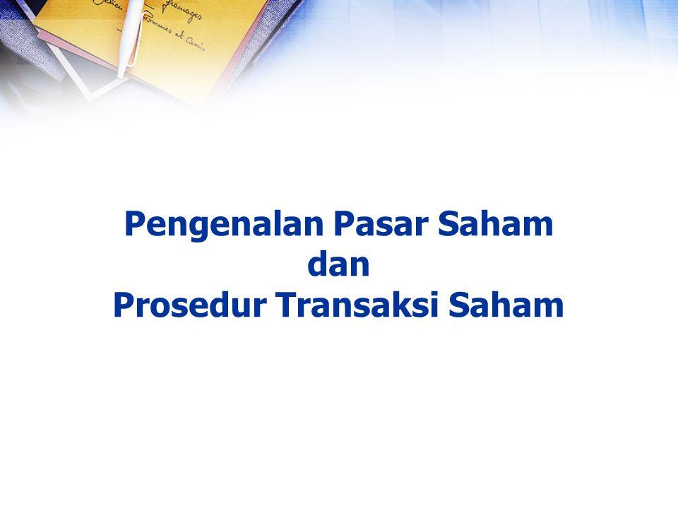 1.Seorang trader memasukkan penawaran pembelian saham ke sistem dan kemudian akan tercatat di database permintaan beli saham.