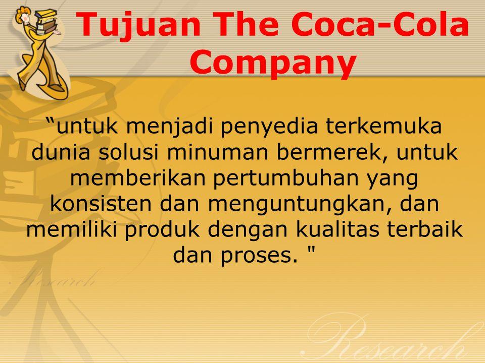 Fokus Utama Coca – Cola Company Konsumen dengan menggunakan program pemasaran yang inovatif dan disesuaikan berdasarkan wawasan konsumen lokal, The Coca-Cola akan terus tumbuh merek inti sementara juga meningkatkan sistem distribusi untuk menangkap peluang pertumbuhan lainnya dalam kategori minuman siap minum alkohol.