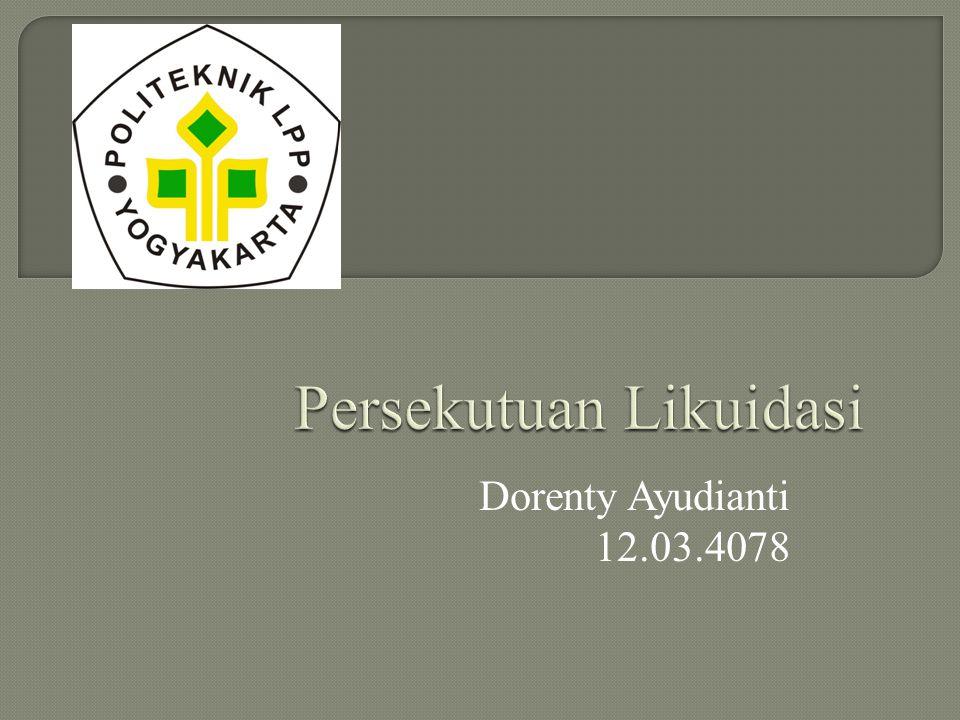 Dorenty Ayudianti 12.03.4078