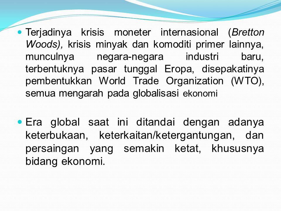 Dampak liberalisasi perdagangan kawasan yang lebih sempit yi AFTA, dan terhdap negara-negara seperti Indonesia.
