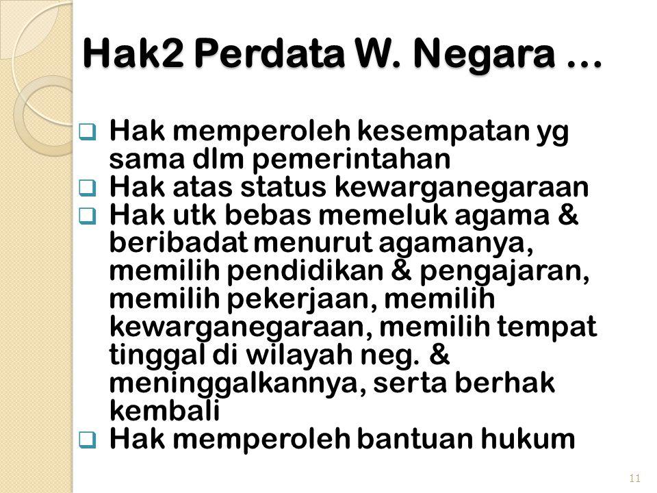 Hak2 Perdata W.