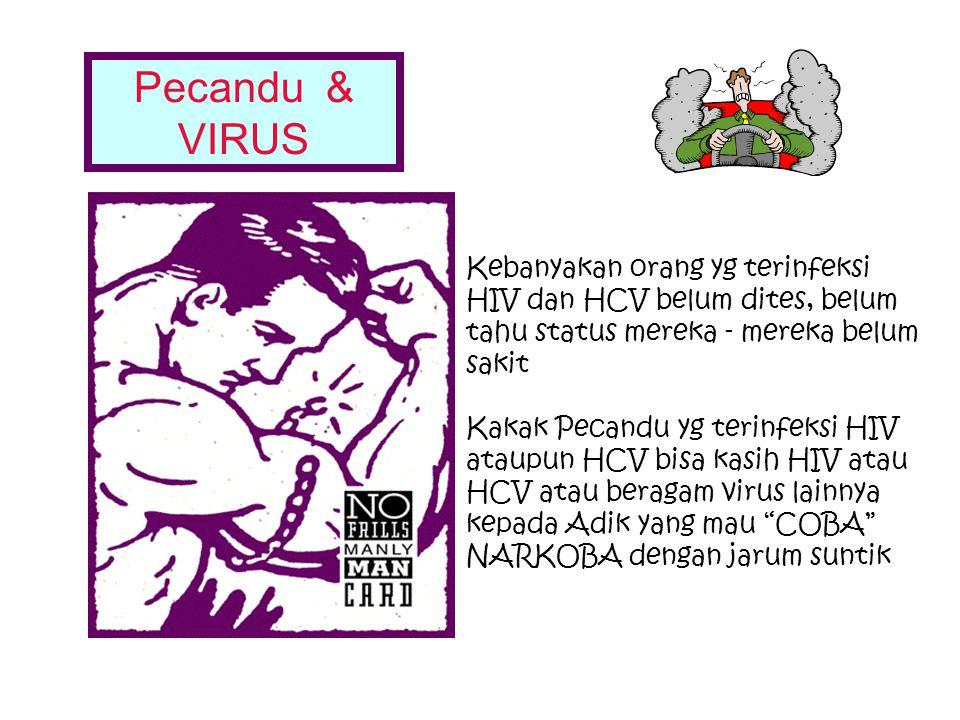 Cara Penularan HIV: Kontak Darah (Jarum suntik, dll) Hubungan Seksual: (Kontak: Sperma, Cairan Vagina), Ibu yang ter-infeksi HIV memberi ASI kepada An
