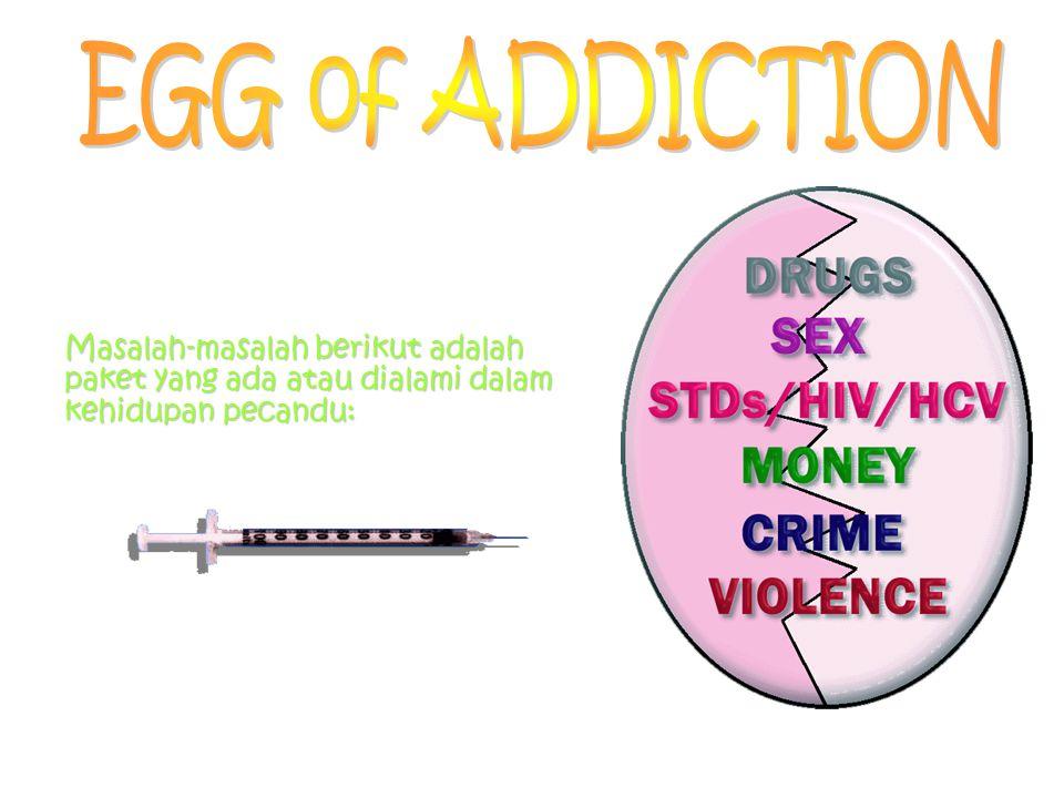 Pecandu dan Seks Pada umumnya pecandu adalah orang yang memiliki kehidupan seksual aktif Seks for Fun Seks dijadikan alat untuk mendapatkan drugs – Pe