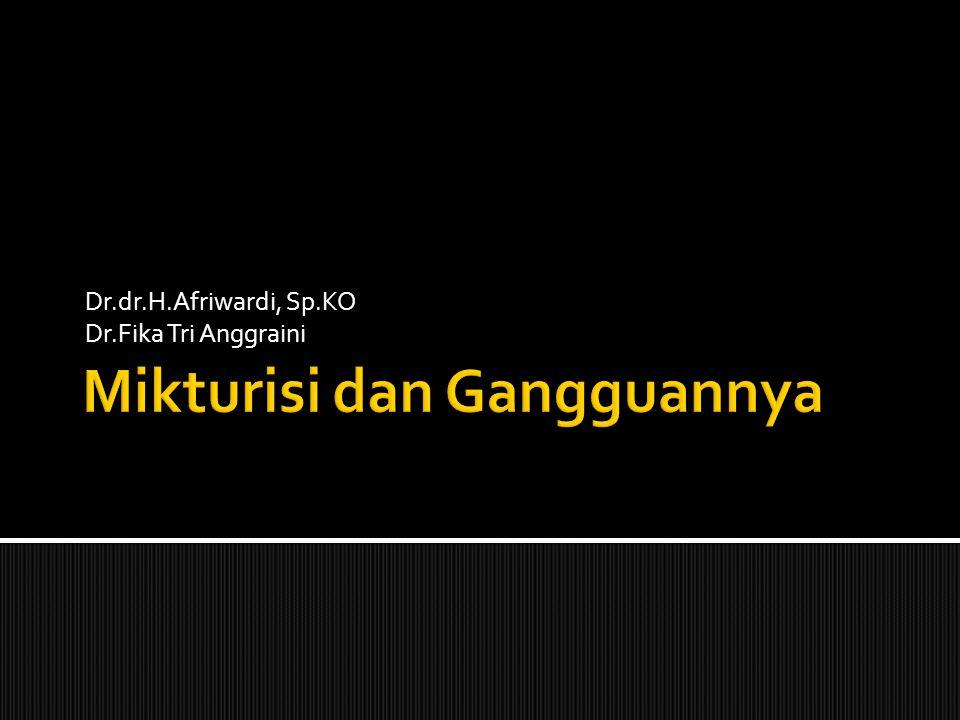 Dr.dr.H.Afriwardi, Sp.KO Dr.Fika Tri Anggraini