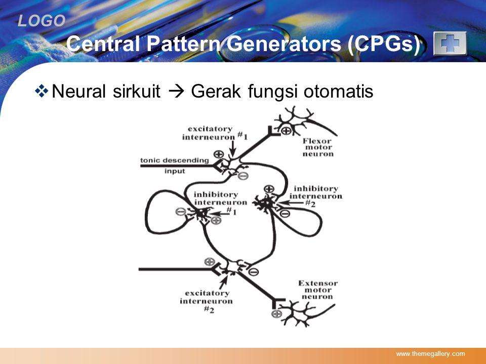 LOGO Central Pattern Generators (CPGs)  Neural sirkuit  Gerak fungsi otomatis www.themegallery.com