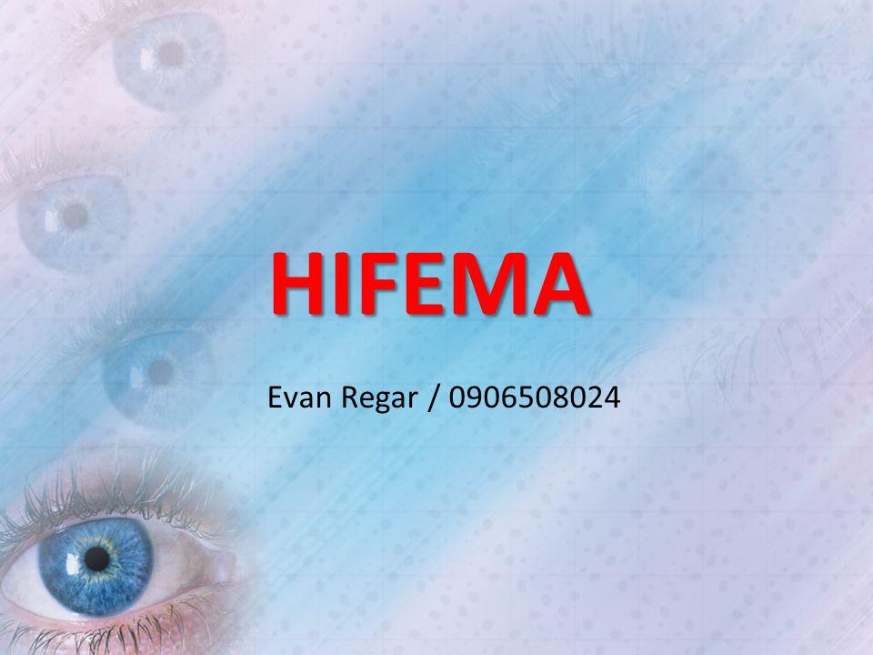 HIFEMA Evan Regar / 0906508024