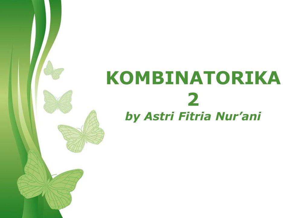 Free Powerpoint TemplatesPage 1Free Powerpoint Templates KOMBINATORIKA 2 by Astri Fitria Nur'ani