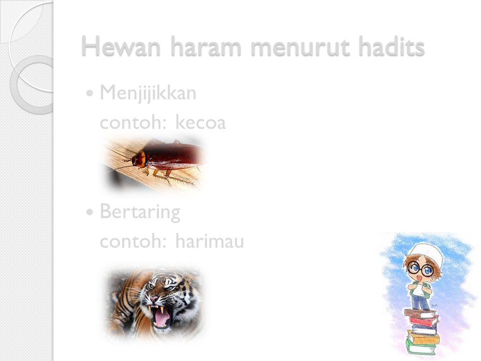 Hewan haram menurut Al-Qur'an Babi Bangkai