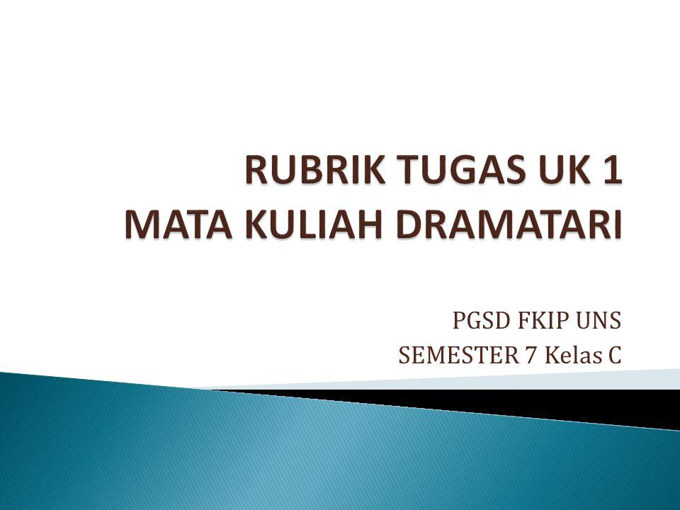 PGSD FKIP UNS SEMESTER 7 Kelas C