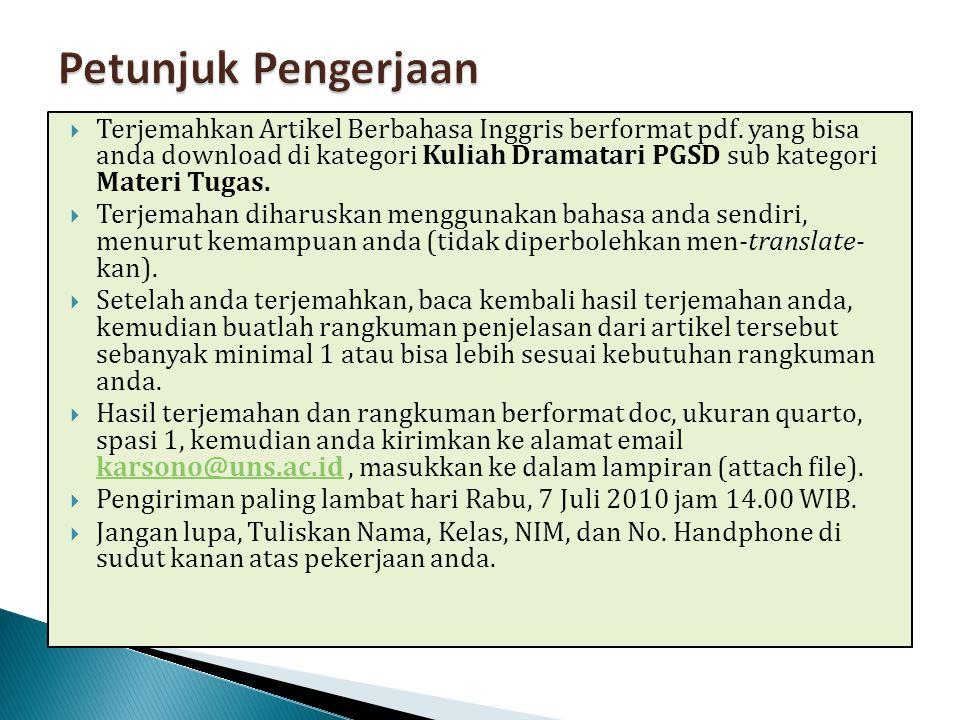  Terjemahkan Artikel Berbahasa Inggris berformat pdf.