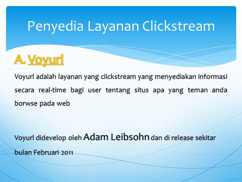 Penyedia Layanan Clickstream