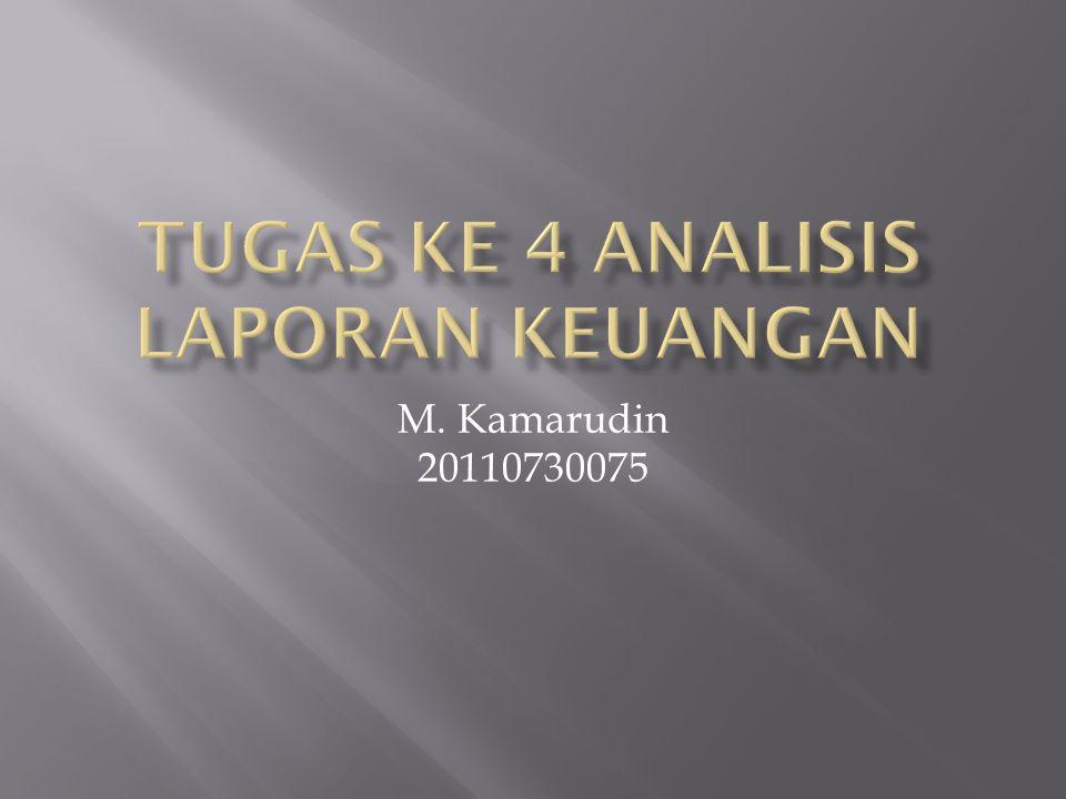 M. Kamarudin 20110730075