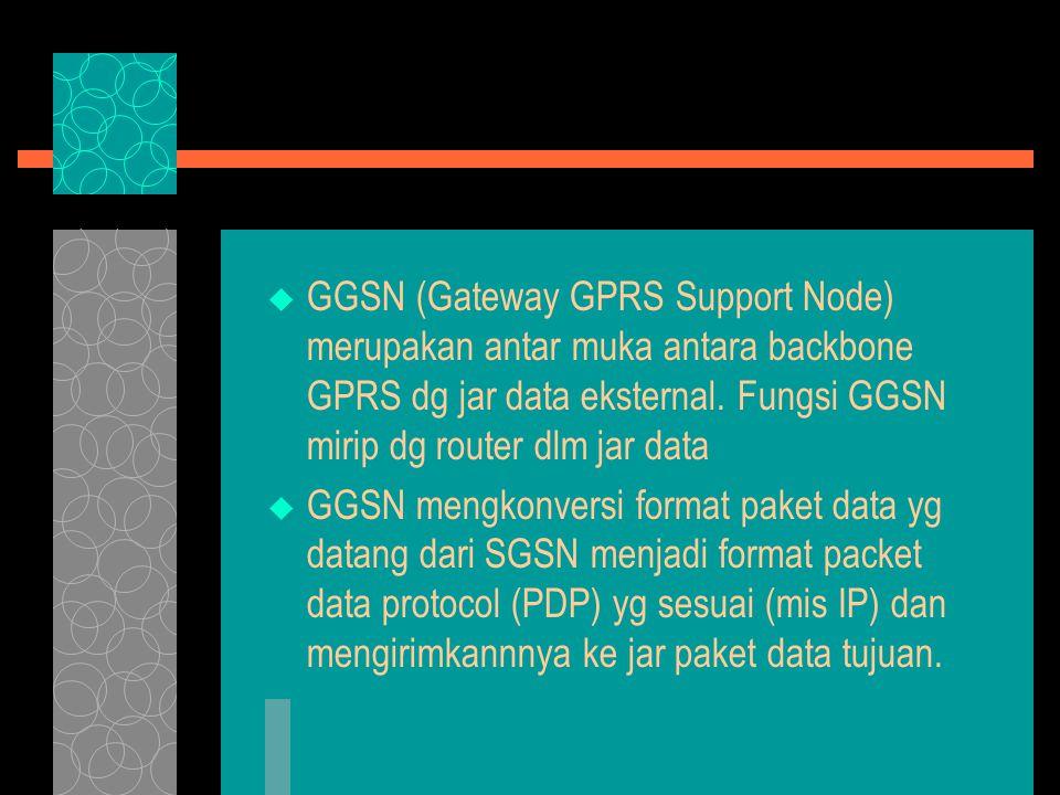 Aplikasi GPRS  Bidang Komunikasi  Akses Intranet, dpt mengakses file dan data Intranet perusahaannya dan tetap dpt mempertahankan hub tsb.