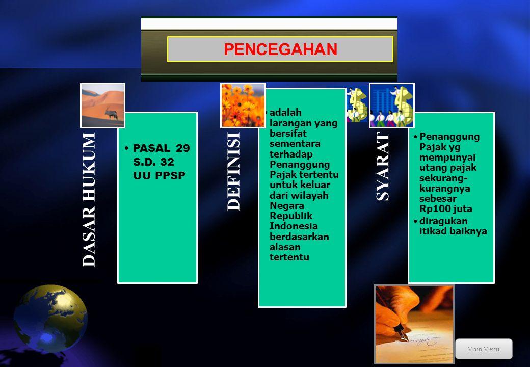 Tindakan penagihan pajak yang dilaksanakan oleh Jurusita Pajak kepada PP tanpa menunggu tanggal jatuh tempo pembayaran yang meliputi seluruh utang paj