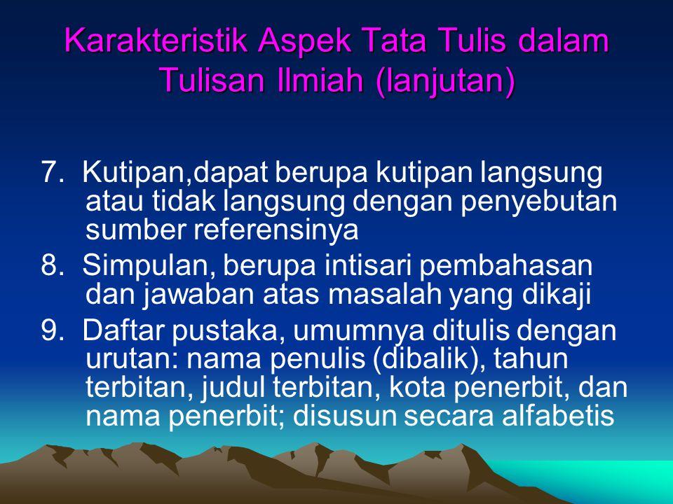 Sumber dari ARTIKEL Artikel Jurnal Efendi, Anwar.2005.