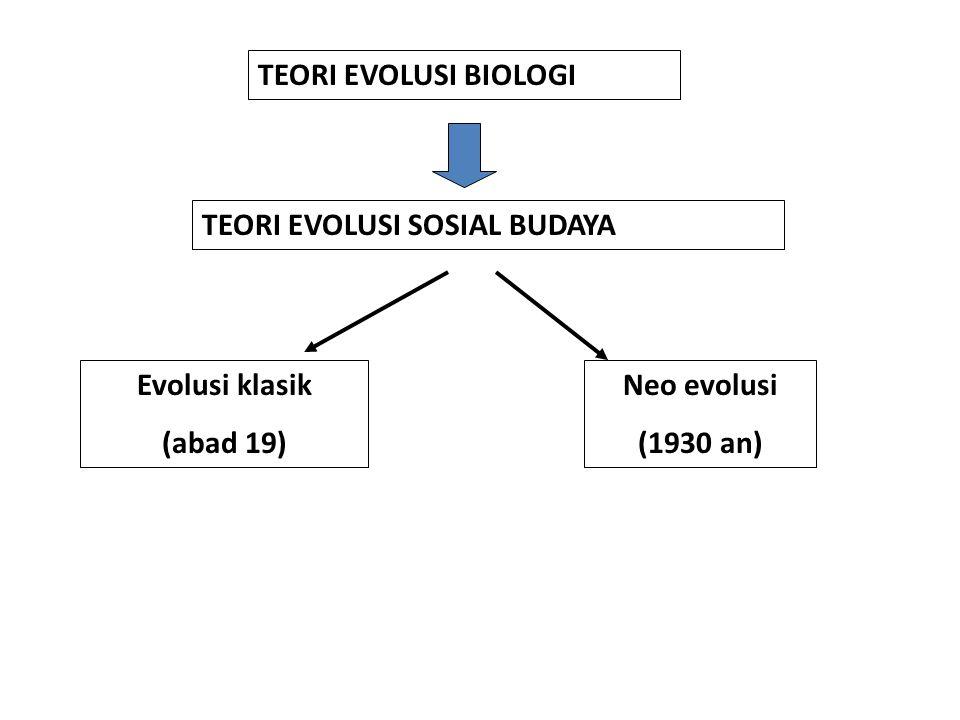 Beberapa kecaman terhadap teori evolusi abad 19: mereka umumnya berpandangan bahwa dalam perbedaan tingkat kemajuan masyarakat dan kebudayaan, maka masyarakat Eropa dipandang sebagai masyarakat yang paling maju tingkat kebudayaannya kurang didasarkan atas hasil penelitian lapangan.