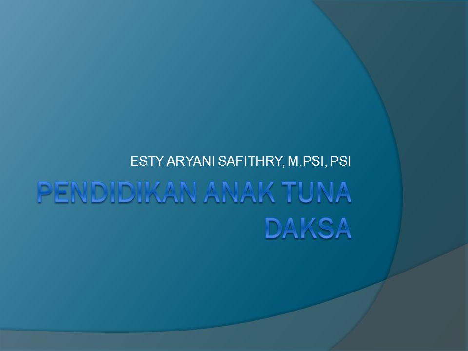 ESTY ARYANI SAFITHRY, M.PSI, PSI