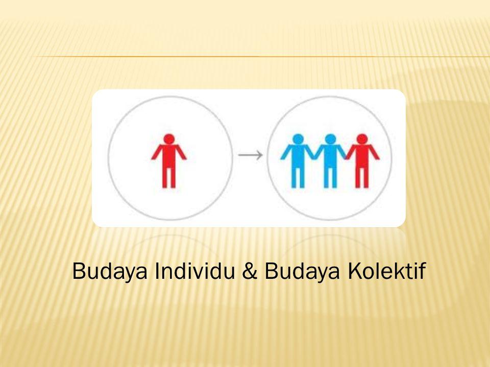 Budaya Individu & Budaya Kolektif