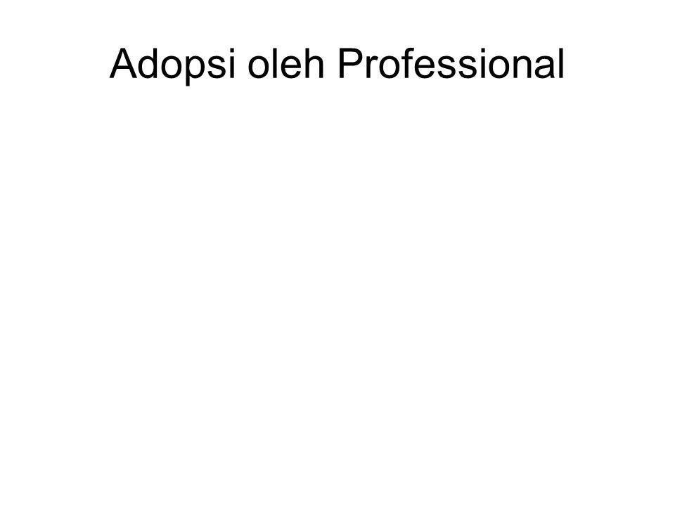 Adopsi oleh Professional
