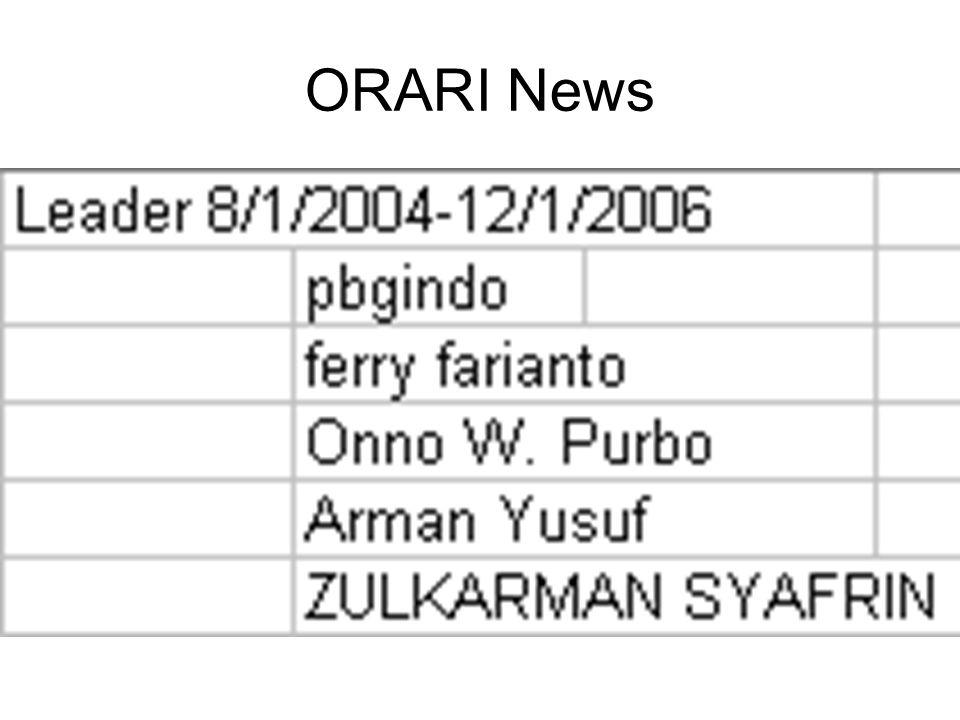 ORARI News