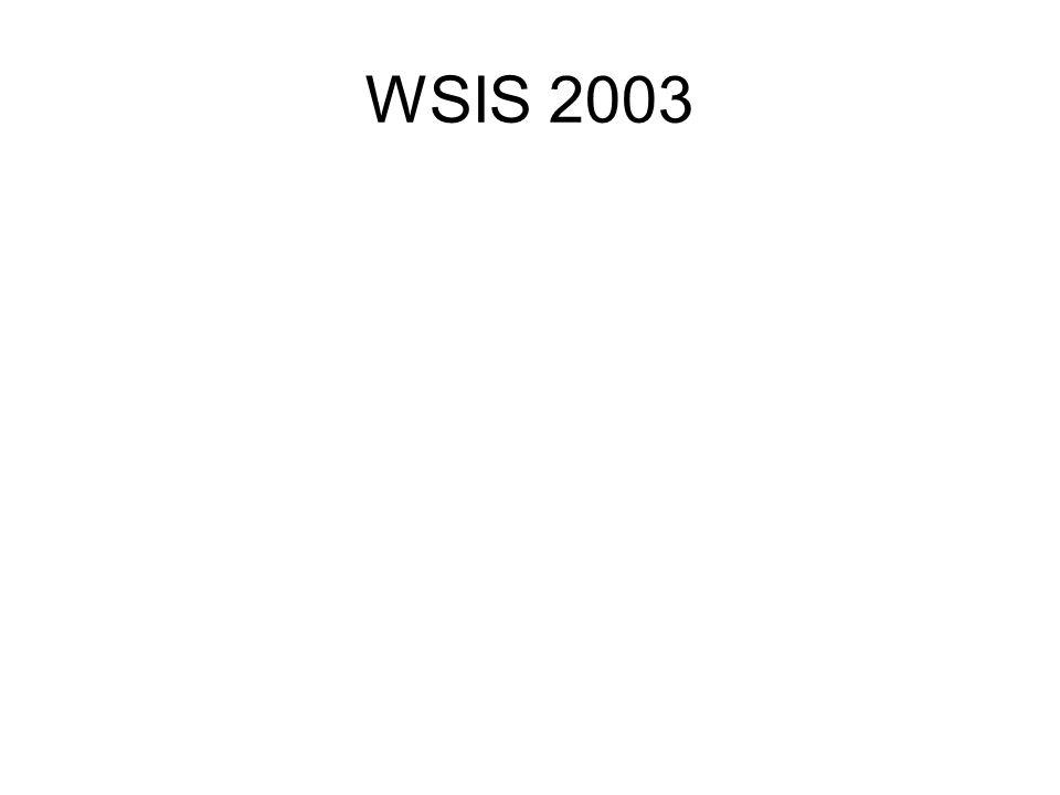 WSIS 2003