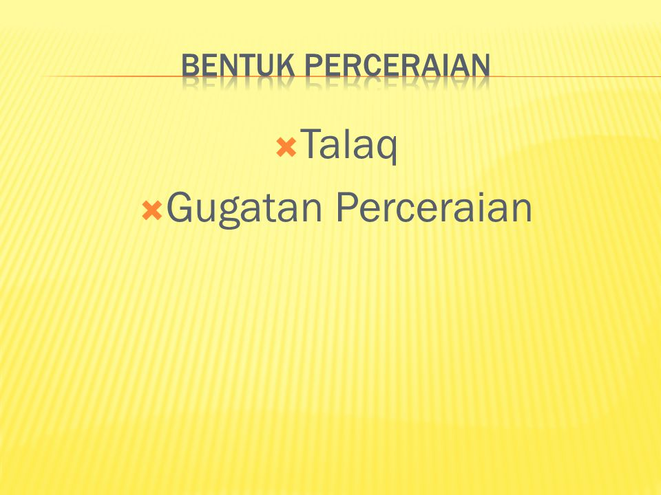  Talaq  Gugatan Perceraian