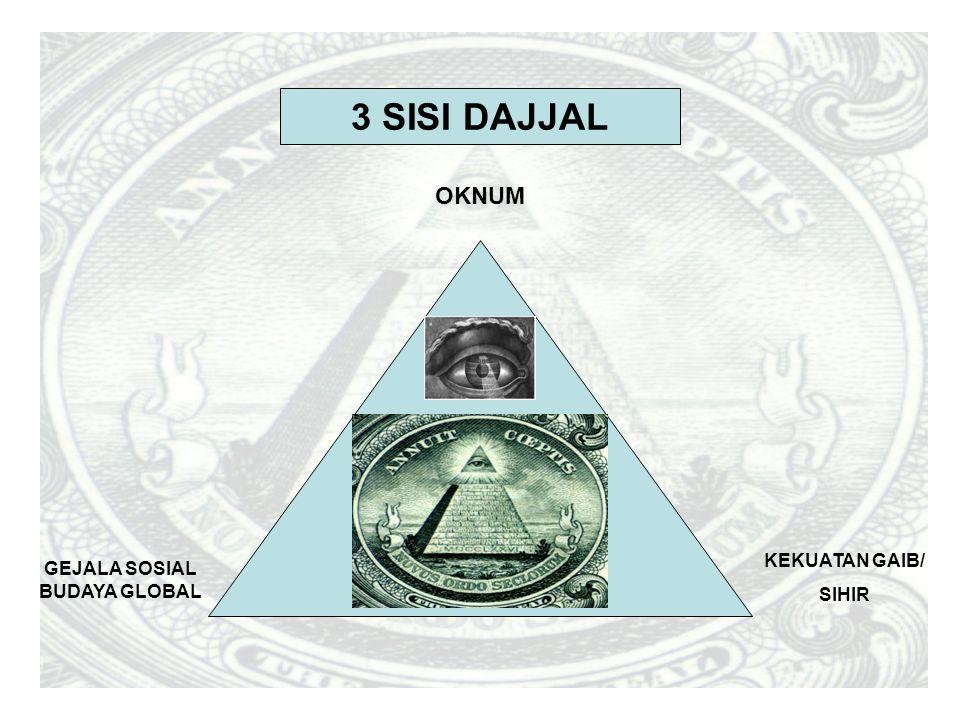 GEJALA SOSIAL BUDAYA GLOBAL KEKUATAN GAIB/ SIHIR OKNUM 3 SISI DAJJAL