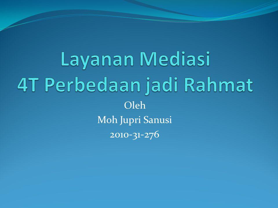 Oleh Moh Jupri Sanusi 2010-31-276