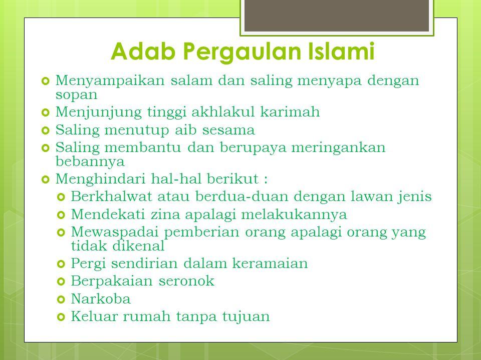 SOLUSI  Hendaknya setiap Muslim menjaga pandangan matanya dari melihat lawan jenis secara berlebihan.