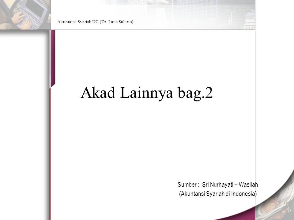 Akuntansi Syariah UG (Dr.