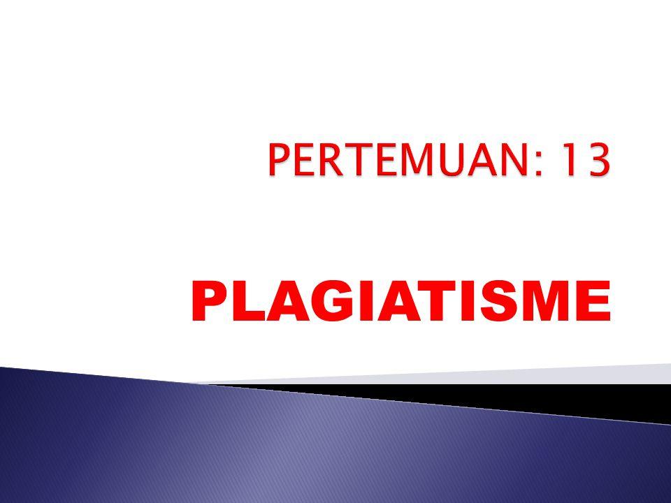 PLAGIATISME