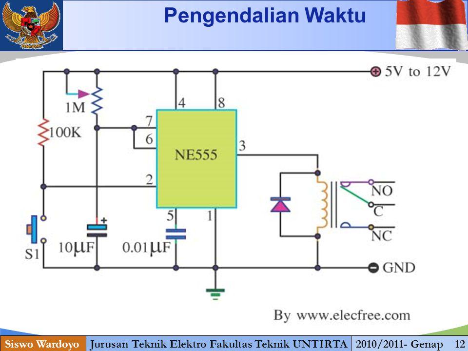 www.themegallery.com KENDALI OTOMATIS Siswo WardoyoJurusan Teknik Elektro Fakultas Teknik UNTIRTA2010/2011- Genap 12 Pengendalian Waktu