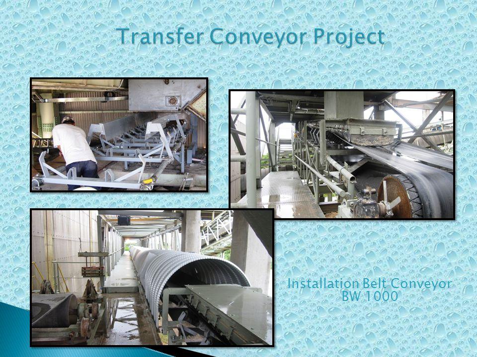 Installation Belt Conveyor BW 1000