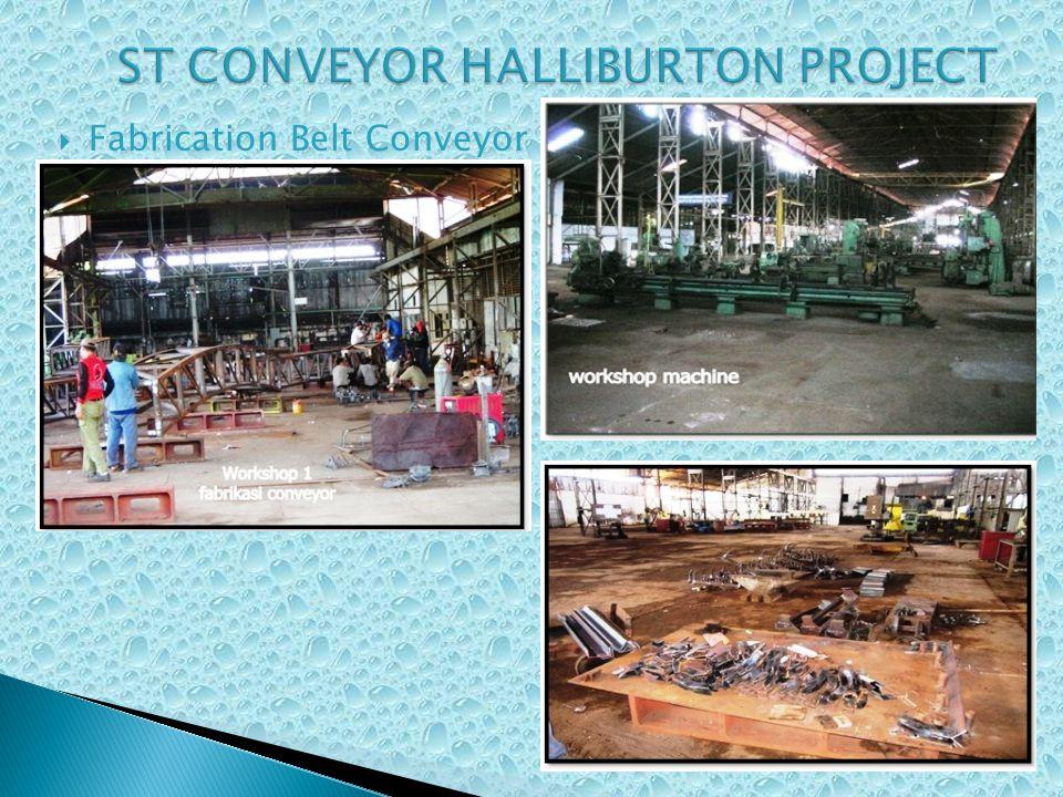 Fabrication Belt Conveyor