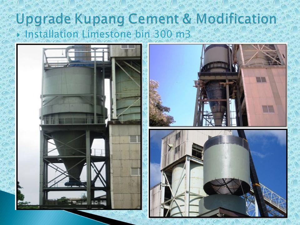  Installation Limestone bin 300 m3
