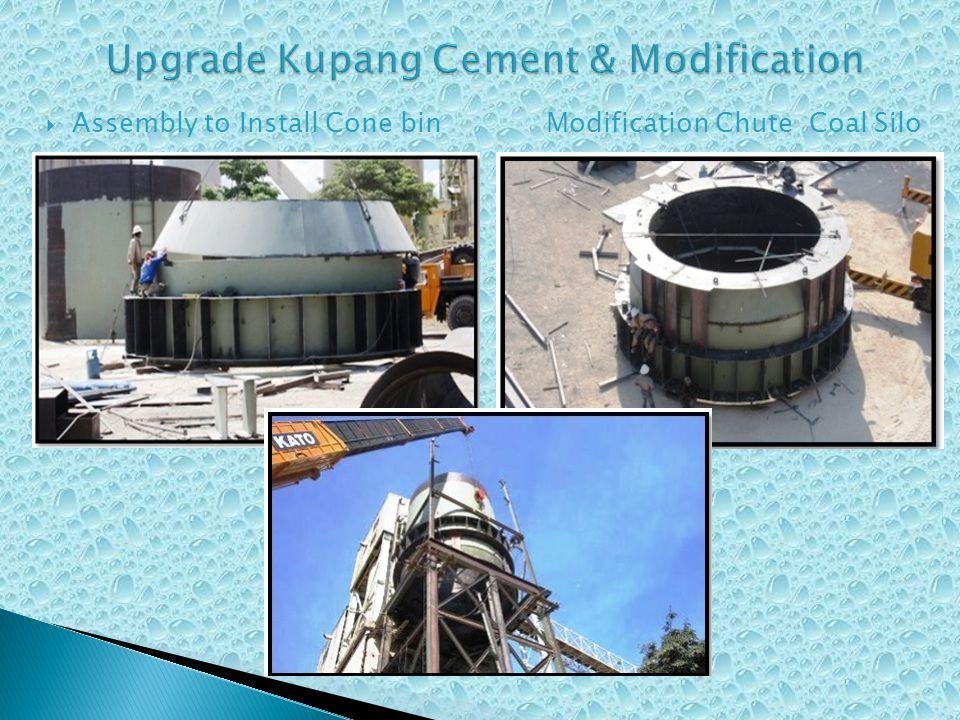  Assembly to Install Cone bin Modification Chute Coal Silo