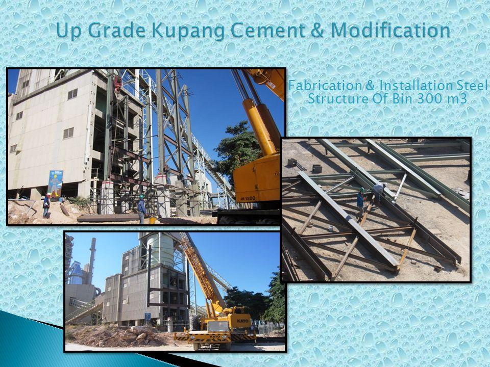 Fabrication Silica Sand Bin 30 m3